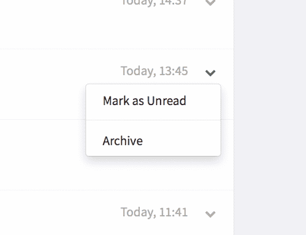 mark chats as unread feature